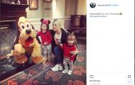 Không lên tuyển, Icardi tranh thủ thăm Disneyland
