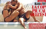 Đỏ mặt với 'cảnh nóng' của Totti và vợ trên bãi biển