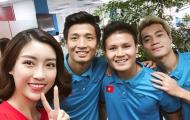 Động viên U23 Việt Nam, hoa hậu Đỗ Mỹ Linh nói lời ẩn ý