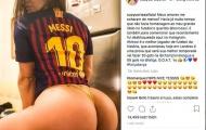 Messi toả sáng, người đẹp siêu vòng ba tặng ảnh nóng