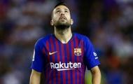 Cùng Barca quyết đấu Inter, nhà của Jordi Alba bị trộm ghé thăm