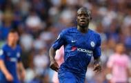 Chelsea nhận tin tức không vui về Kante