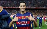 Busquets và những thống kê đáng chú ý sau 12 năm tại Barca