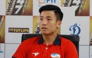 Trung vệ Bùi Tiến Dũng phân trần về tình huống đá hỏng penalty tại vòng 7 V-League