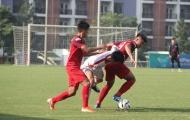 U23 Việt Nam cầm hòa Viettel trong thời tiết nắng nóng