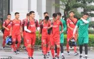 Đội tuyển U23 Việt Nam tích cực tập luyện nhằm ghi điểm với thầy Park