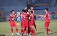 Trọng Đại ghi điểm giúp Viettel có chiến thắng trước Sanna Khánh Hòa