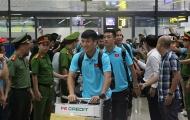ĐT Việt Nam chính thức về nước trong vòng tay người hâm mộ