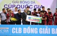 TP Hồ Chí Minh nhận HCĐ của Cup Quốc gia 2019