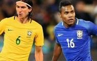 Đội tuyển Brazil: Alex Sandro xuất sắc, nhưngFilipe Luis mới phù hợp