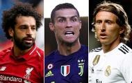 Vắng Messi, đề cử Top 3 FIFA The Best là vô nghĩa?