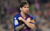 'Kể cả có đá bằng một chân, Messi vẫn là số 1'