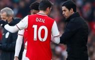 Nói lên cảm nhận về triều đại Arteta, Ozil bị chỉ trích: 'Tôi không muốn nghe những điều này'