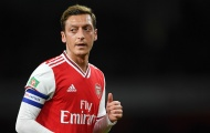 Rõ lý do Ozil vắng mặt ở trận đấu của Arsenal với Olympiakos