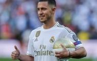 Roberto Martinez lên tiếng cập nhật tình hình của Eden Hazard