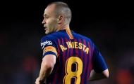 Được hỏi về việc trở lại Barca, đây là đáp án của Iniesta