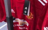 Mẫu áo đấu mùa tới của Man Utd được tiết lộ