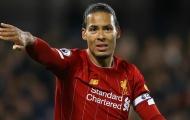 Sở hữu thống kê 'vô đối', Van Dijk khiến Liverpool không thể không lo