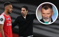 Arteta bảo vệ trò cưng trước 'gạch đá' từ Roy Keane