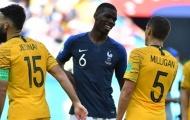 Pogba: 'Australia đã đọc vị được tuyển Pháp'