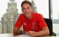 Harry Wilson kí hợp đồng dài hạn với Liverpool