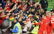 Ghi bàn quan trọng, sao xứ Wales được so sánh với huyền thoại Man Utd