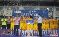 Kết thúc giải futsal nữ TP.HCM: Phong Phú Hà Nam lên ngôi vô địch