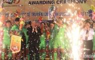 Thua đau giây cuối, SHB Đà Nẵng mất ngôi vô địch BTV Cup 2016