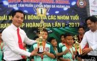 Giải bóng đá Cúp Hoàng Gia 2017: U10 Quận Gò Vấp lên ngôi vô địch