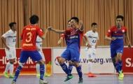 Vòng 8 giải futsal VĐQG 2017: Cú sốc mang tên Sanatech Khánh Hòa