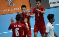 Thắng đậm Myanmar, ĐT Futsal Việt Nam thắp lại hy vọng giành huy chương