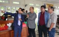 Bầu Đức 'khoe' cơ ngơi Học viện HAGL với HLV Park Hang-seo