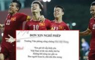 Công ty nghỉ làm, học sinh xin nghỉ học cổ vũ trận U23 Việt Nam gặp U23 Qatar