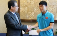 """U23 Việt Nam nhận """"doping"""" tiền thưởng trước trận bán kết gặp U23 Qatar"""