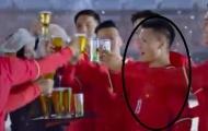 """""""Sếp"""" VFF nói gì khi Quang Hải mặc áo đội tuyển quảng cáo bia?"""