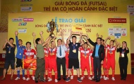 Giải trẻ em có hoàn cảnh đặc biệt 2018: Đánh bại chủ nhà TP.HCM, Hà Nội lên ngôi vô địch