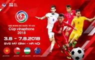 Lịch thi đấu U23 Việt Nam Quốc tế 2018