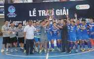 Thái Sơn Nam quận 8 vô địch giải futsal TP.HCM mở rộng 2018