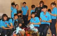 Đội tuyển nữ Việt Nam lên đường sang Nhật Bản tập huấn