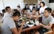 Đội bóng HLV Miura tăng cường dinh dưỡng sẵn sàng bứt tốc giai đoạn cuối V-League 2018