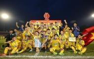 """VCK U15 Quốc gia 2018: Thắng Viettel trên loạt """"đấu súng"""", SLNA lên ngôi vô địch"""