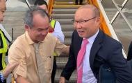 HLV Park hang-seo tái ngộ bầu bầu Đức ở Quảng Nam