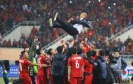 """""""Người hùng"""" Park Hang-seo và khoảng khắc lịch sử của bóng đá Việt Nam"""
