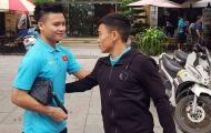 Đội trưởng Quang Hải động viên 'đàn em Công Phượng' chia tay U23 Việt Nam