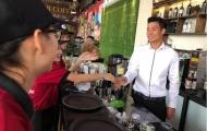 Chi tiền tỉ, Bùi Tiến Dũng làm ông chủ quán cà phê