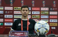 HLV Darije Kalezic cay đắng nói về thất bại của đội nhà trên sân Gò Đậu