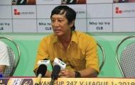 CHÍNH THỨC: HLV Vũ Quang Bảo chia tay bóng đá Thanh Hóa
