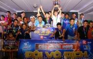 Minh Nhật FC bất ngờ lên ngôi vương giải Phủi Thể thao Thiên Long 2019