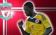 Sao trẻ Colombia gia nhập Liverpool 6 tháng, chưa được đá trận nào đã bị đẩy đi