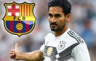 Được Barca quan tâm, sao Man City hờ hững chối từ